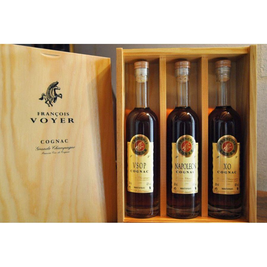 Francois Voyer Tasting Set VSOP Napoleon XO