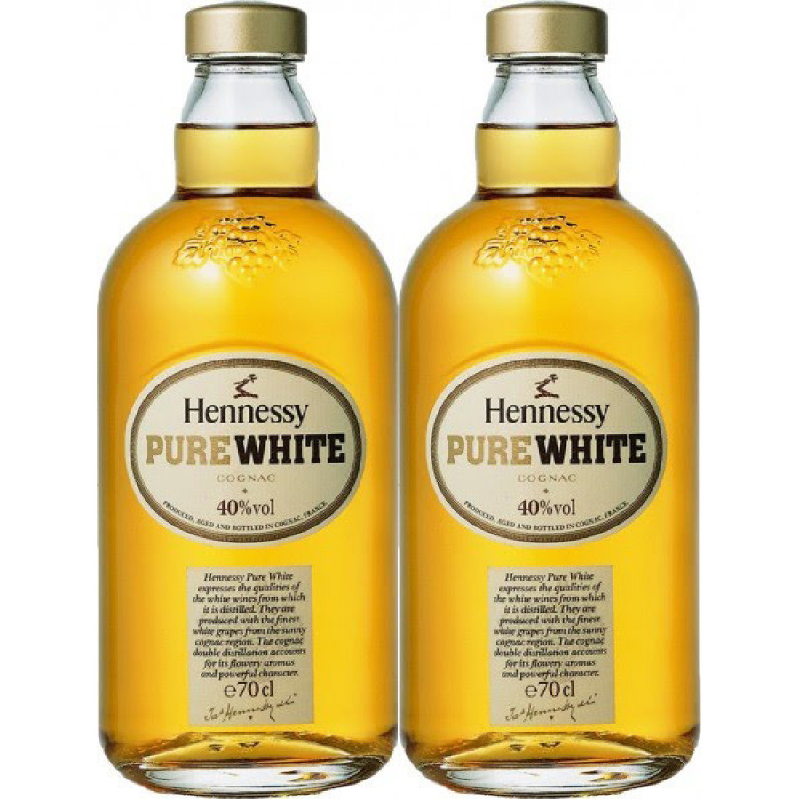 2x Hennessy Pure White