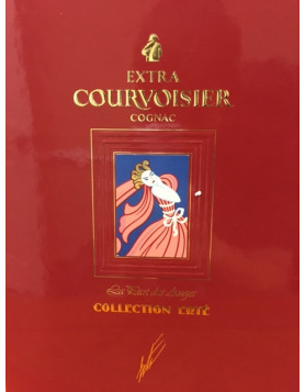 Courvoisier ERTE Collection Nr. 4, 5, 6 and 7