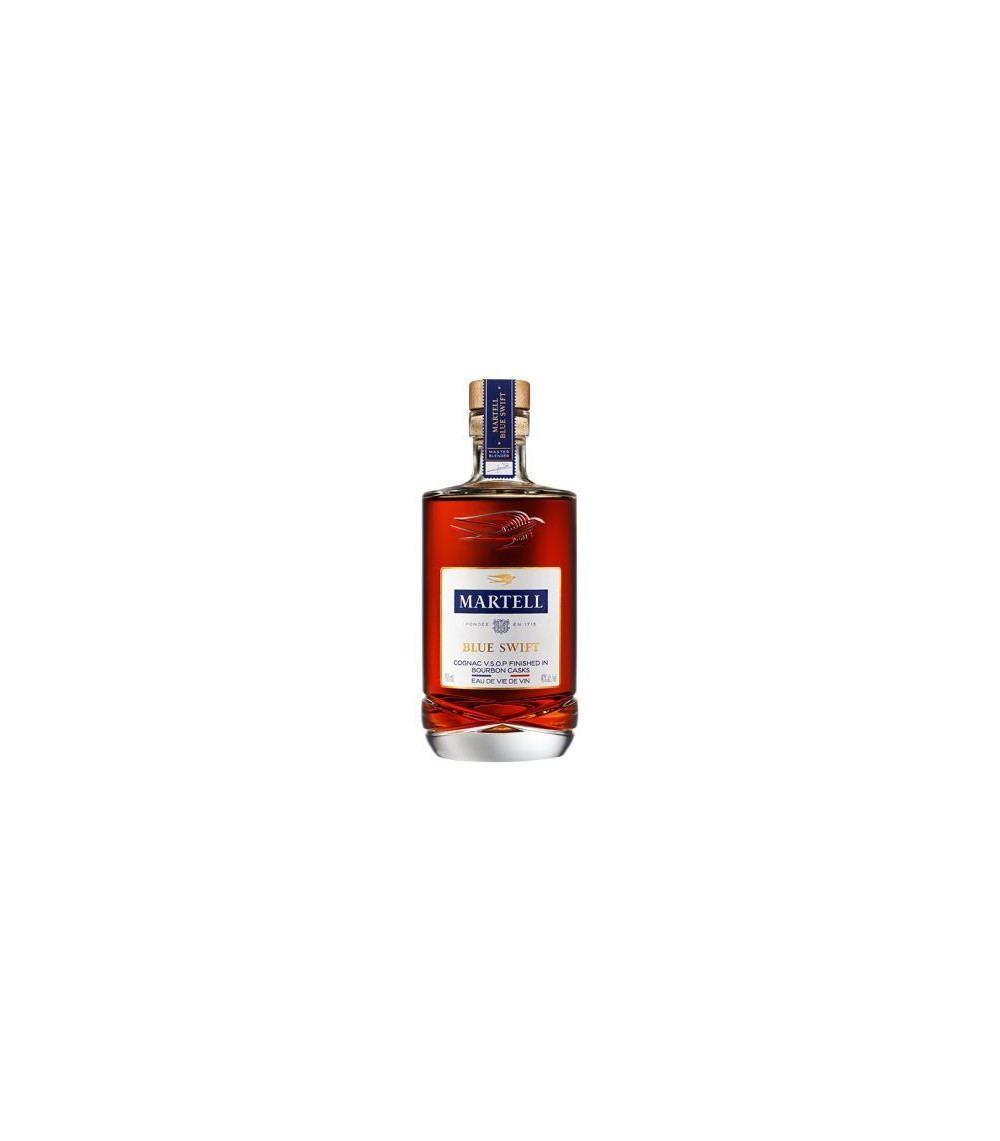 Martell blue swift vsop cognac bourbon finish eau de vie for Piscine x eau cognac