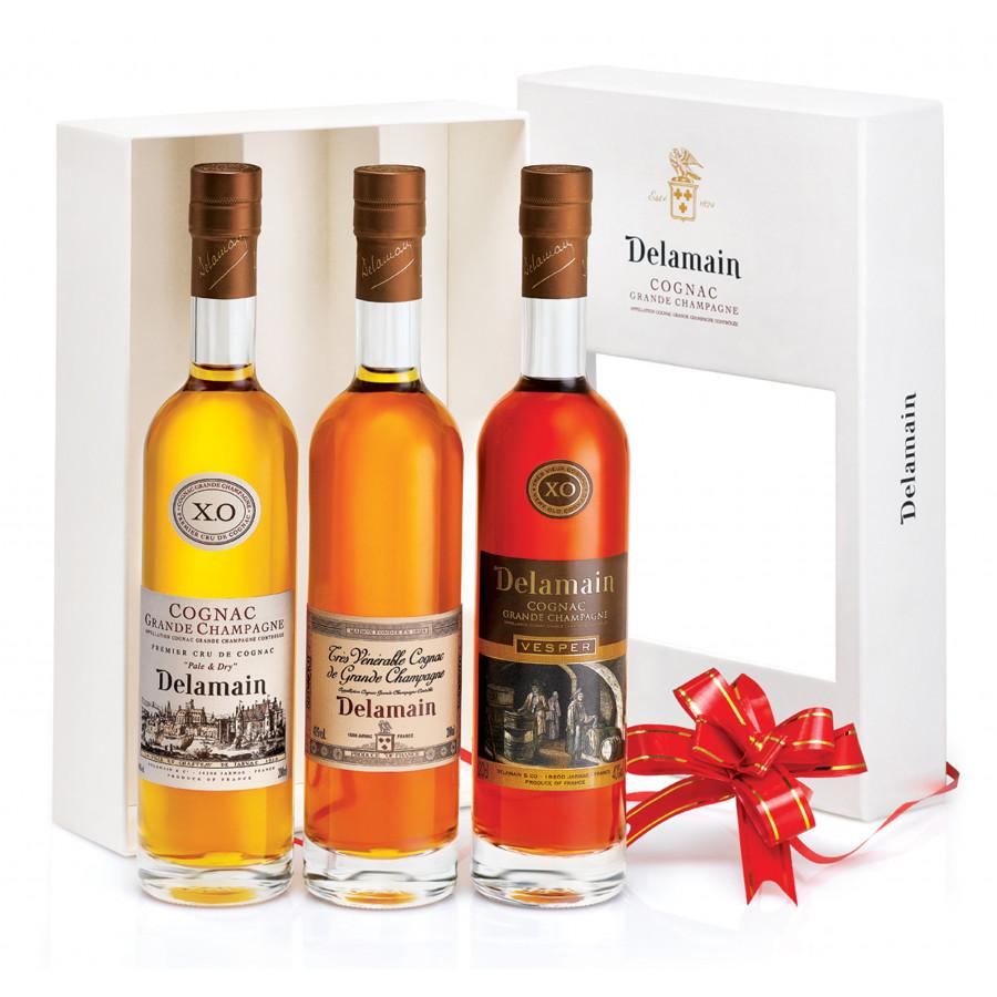 Delamain Gift Box Trio