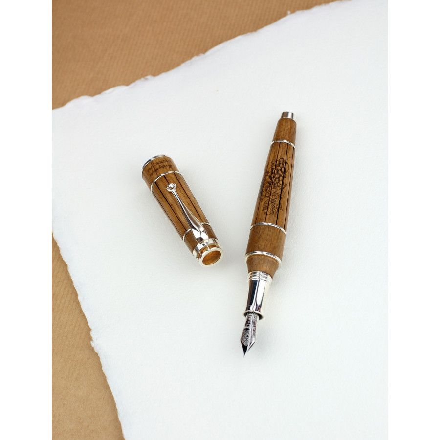 The Cognac Fountain Pen from Montgrappa