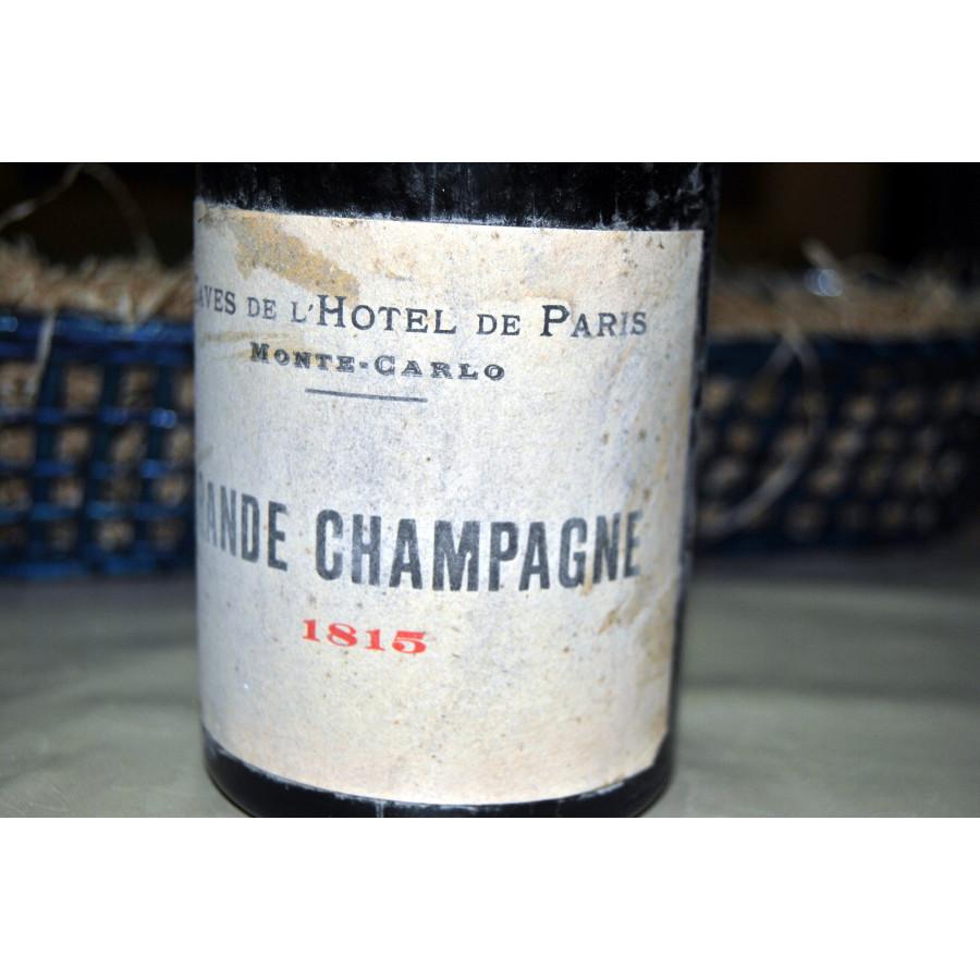 1815 Caves de l'Hotel de Paris
