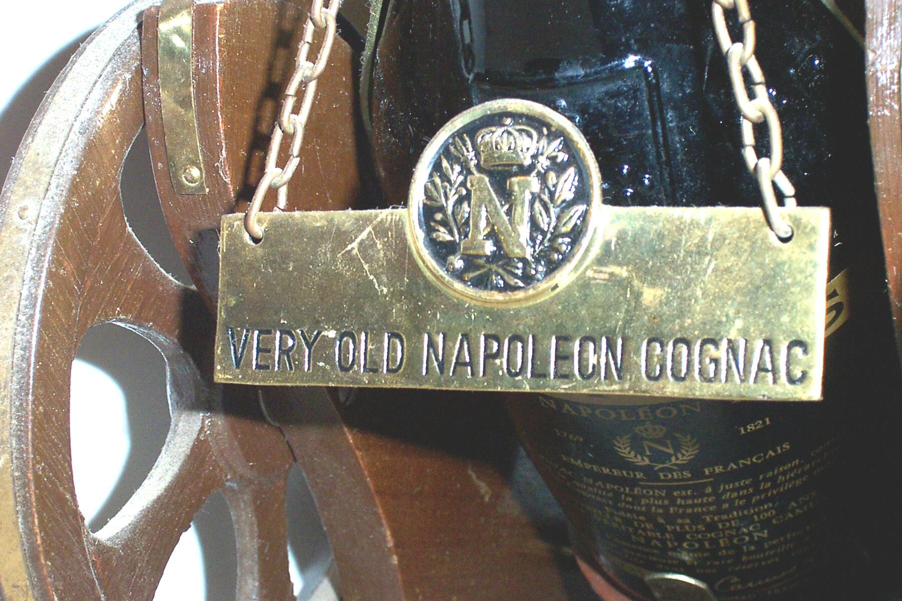 Cognac Plaque Napoleon Camus