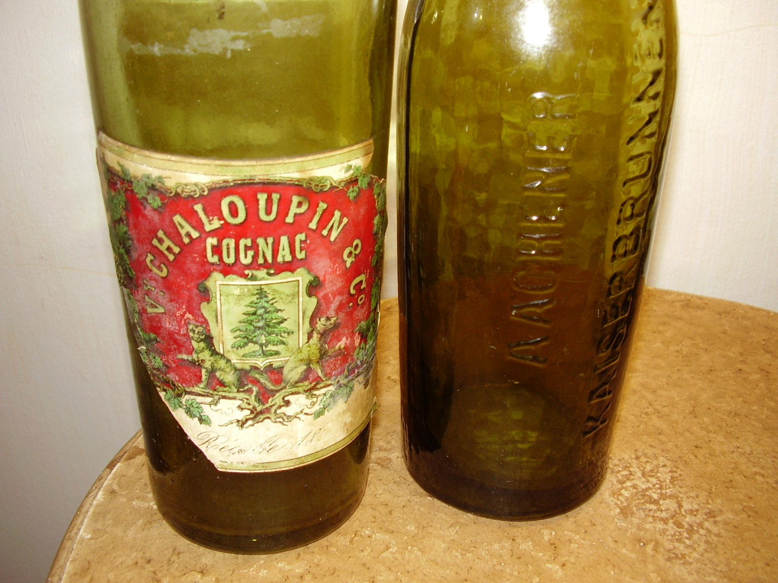 1800 Chaloupin Co Cognac bottle