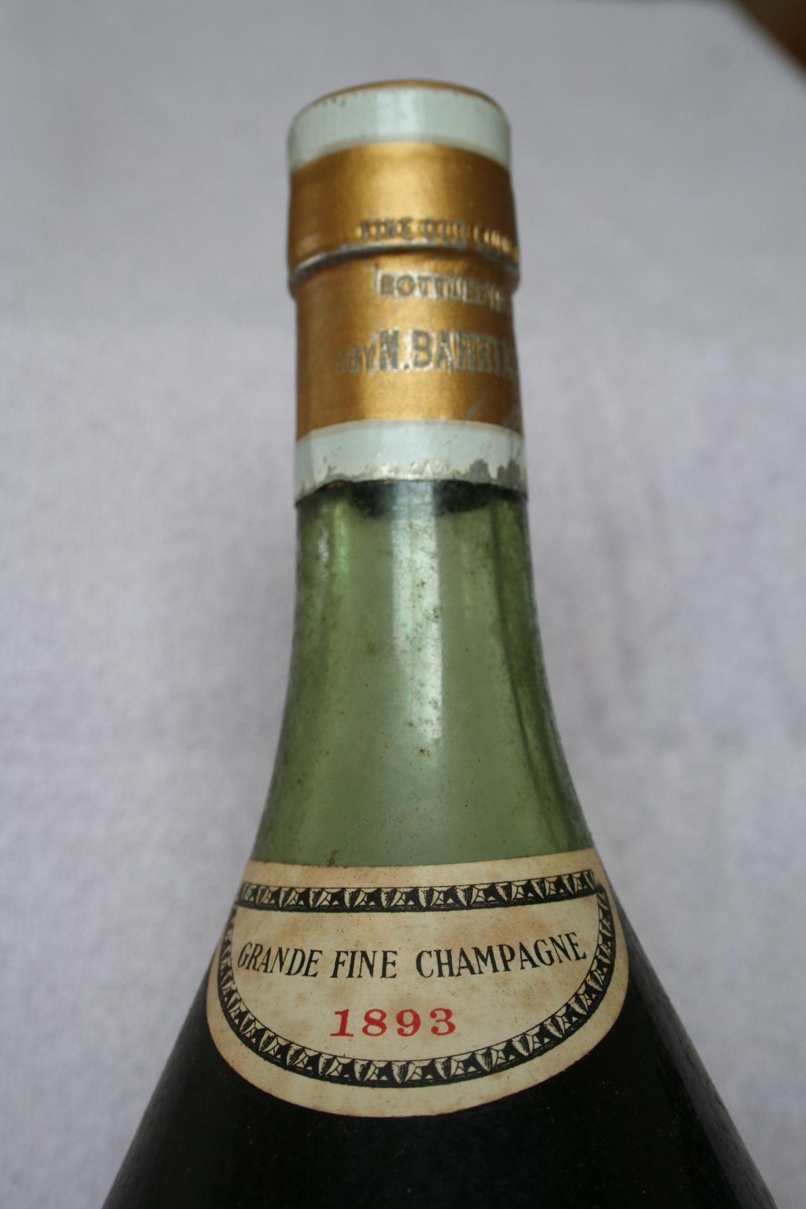 Barriasson bottle neck Cognac