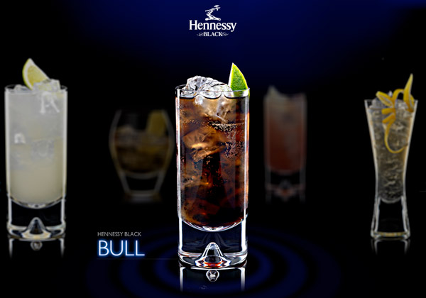 Hennessy cocktail Bull