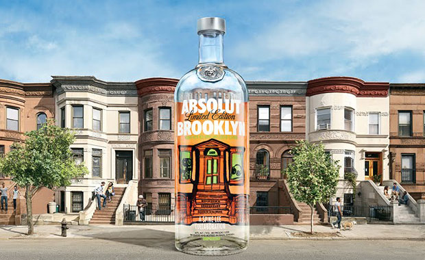 Absolut Brookly designed by Spike Lee