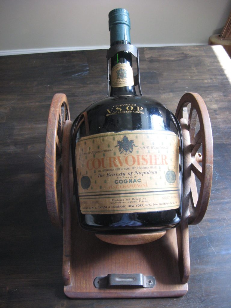 Bam Courvoisier Vsop Gallon Gun Carriage Cognac Expert