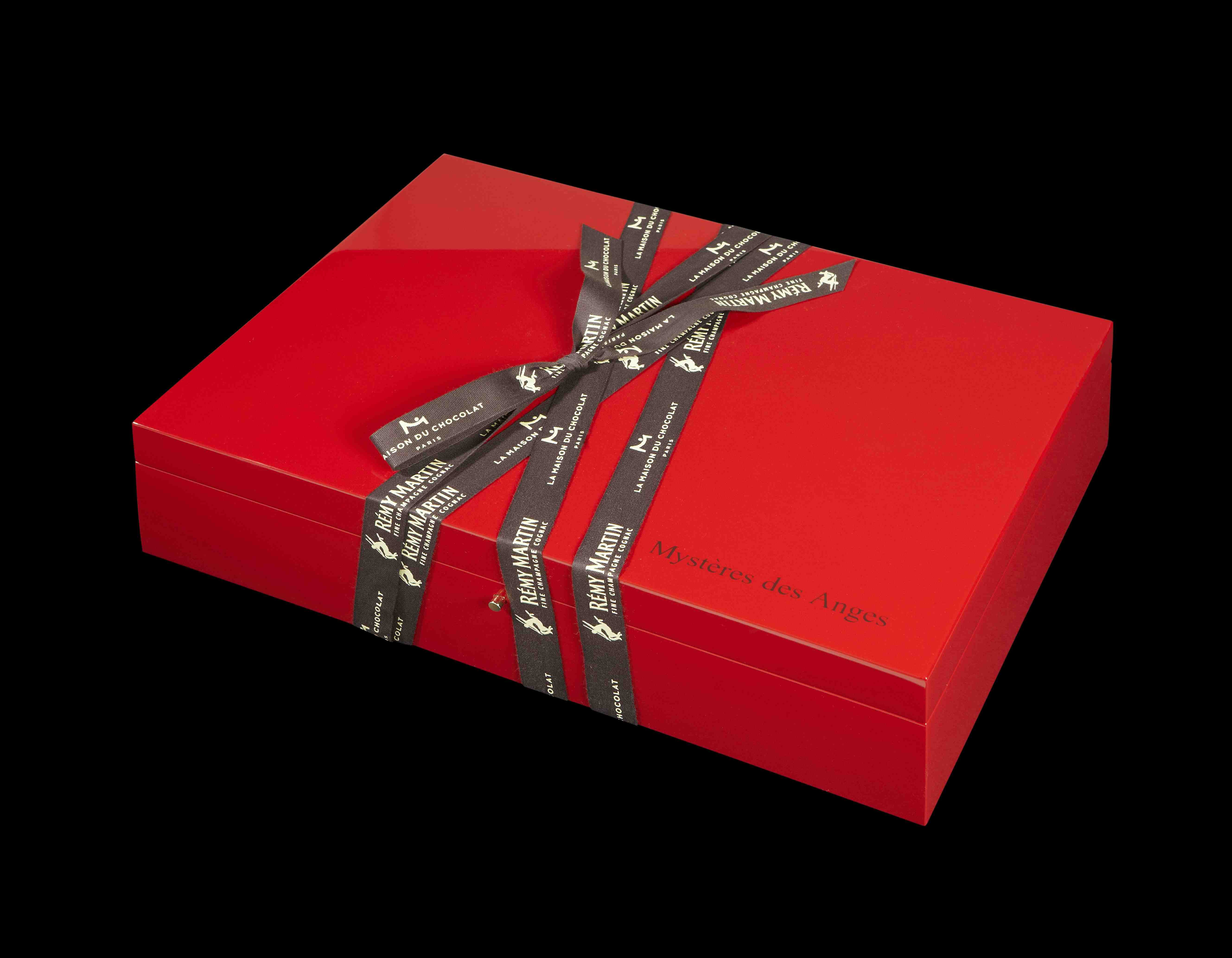 Closed and turned Mysteries of the Angels gift box 2011