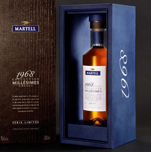 1968 Collection Millesimes Martell Vintage Cognac