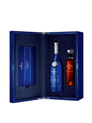Martell Cordon Bleu Special edition gift box with Borderies Cognac bottle