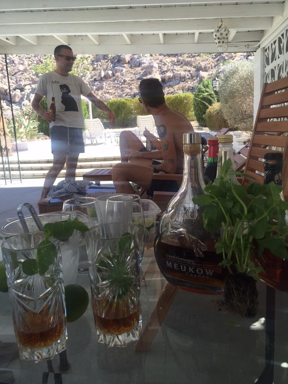 Sophie's Meukow Cognac Cocktails - from California!