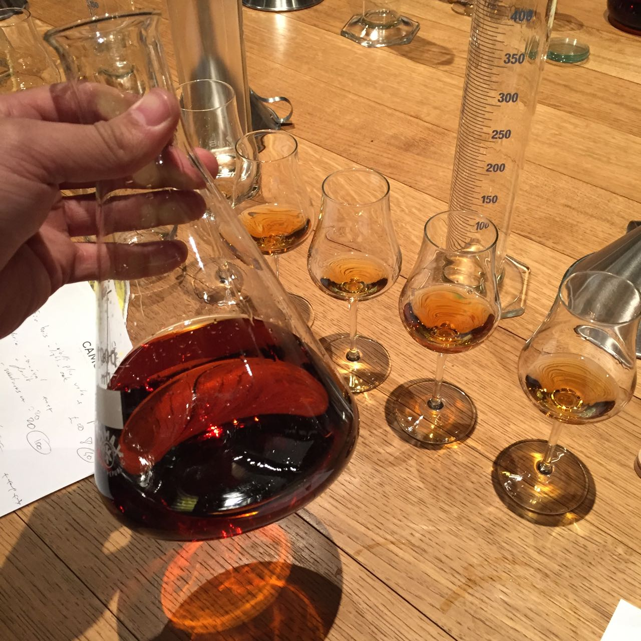 Our Visit to Camus Cognac Or How to Blend Your Own Cognac