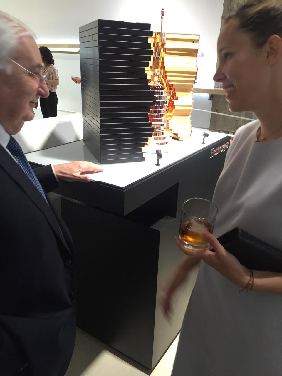 Sophie's Visit to the Hennessy 8 Launch
