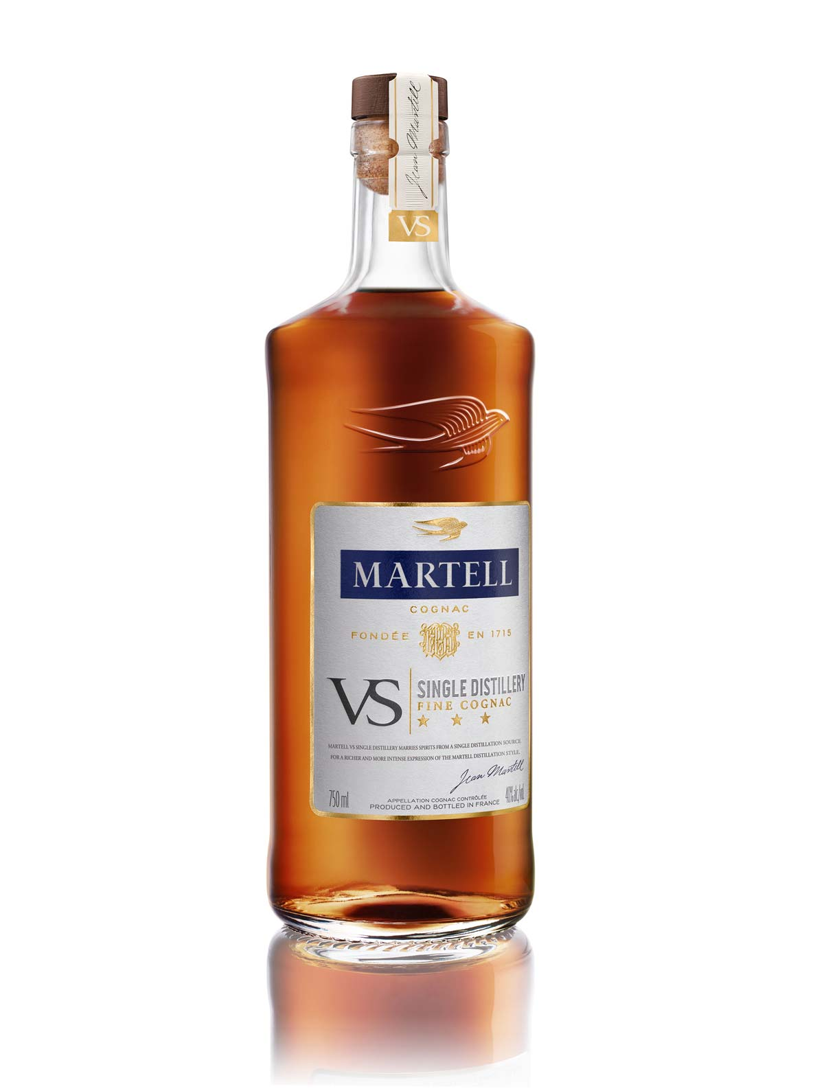 Martell launches VS Single Distillery Cognac