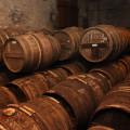 cognac barrels aging
