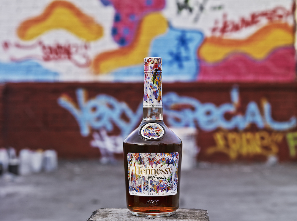 Hennessy VS Limited Edition by Artist JonOne