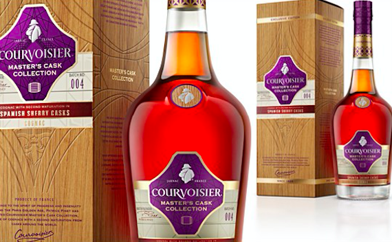 Courvoisier sherry cask finish