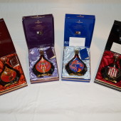 Cognac-Expert.com Reader Sells Complete Erte Courvoisier Cognac Collection: All Eight Bottles