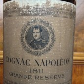 Old Bottle of Cognac Napoléon 1811 Grande Reserve