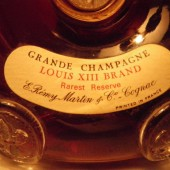 Grandfather's heritage: Remy Martin Cognac Grade Champagne Louis XIII Brand